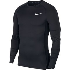 NIKE M NP TOP LS TIGHT BLACK