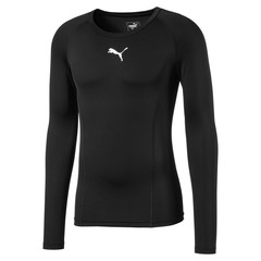 PUMA LIGA BASELAYER TEE LS PUMA BLACK