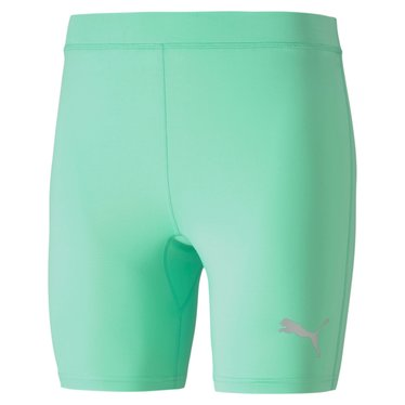 PUMA LIGA BASELAYER SHORT TIGHT GREEN GLIMMER