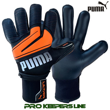 PUMA ULTRA PROTECT 1 RC BLACK/SHOCKING ORANGE (VINGERBESCHERMING)