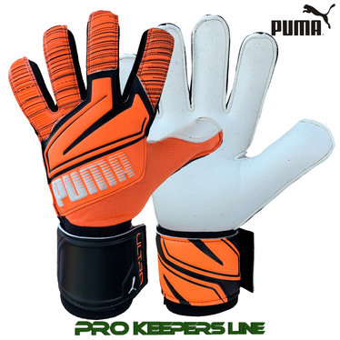 PUMA ULTRA GRIP 1 JUNIOR RC SHOCKING ORANGE/WHITE