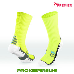 PREMIER PST G48 GRIP SOCKS NEON YELLOW