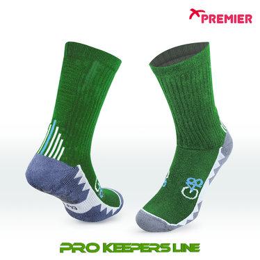 PREMIER PST G48 GRIP SOCKS GREEN