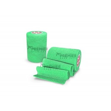GOALKEEPERS WRIST & FINGER PROTECTION TAPE 5CM LIME GREEN