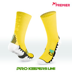 PREMIER PST G48 GRIP SOCKS YELLOW