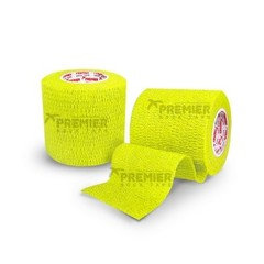 GOALKEEPERS WRIST & FINGER PROTECTION TAPE 5CM NEON YELLOW