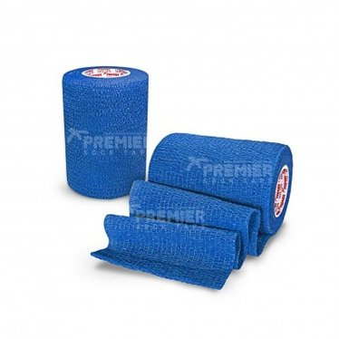 GOALKEEPERS WRIST & FINGER PROTECTION TAPE 7.5CM ROYAL