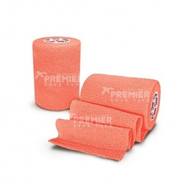 GOALKEEPERS WRIST & FINGER PROTECTION TAPE 7.5CM NEON ORANGE
