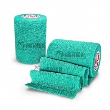 GOALKEEPERS WRIST & FINGER PROTECTION TAPE 7.5CM TURQUOISE GREEN