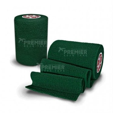 GOALKEEPERS WRIST & FINGER PROTECTION TAPE 7.5CM DARK GREEN