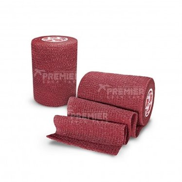 GOALKEEPERS WRIST & FINGER PROTECTION TAPE 7.5CM MAROON