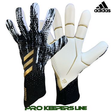 ADIDAS PREDATOR GL PRO PROMO CORE BLACK/ CLOUD WHITE/ GOLD METALLIC (NEGATIV-SCHNITT)
