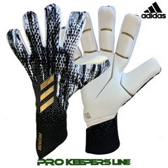 ADIDAS PREDATOR GL PRO FINGERSAVE PROMO CORE BLACK/ CLOUD WHITE/ GOLD METALLIC