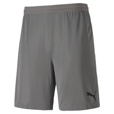 PUMA TEAMFINAL 21 KNIT SHORTS STEEL GRAY JUNIOR