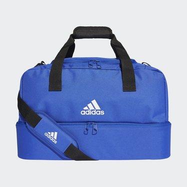 ADIDAS TIRO DUFFLE BAG S BOLD BLUE/WHITE