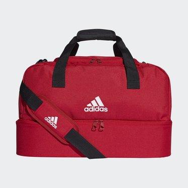 ADIDAS TIRO DUFFLE BAG S POWER RED/WHITE