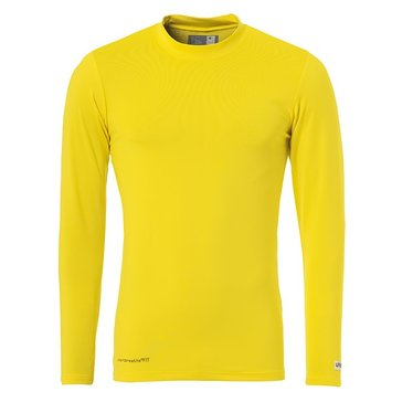 UHLSPORT DISTINCTION BASELAYER FLUO LEMON YELLOW