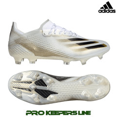 ADIDAS X GHOSTED.1 FG WHITE/ BLACK/ GOLD
