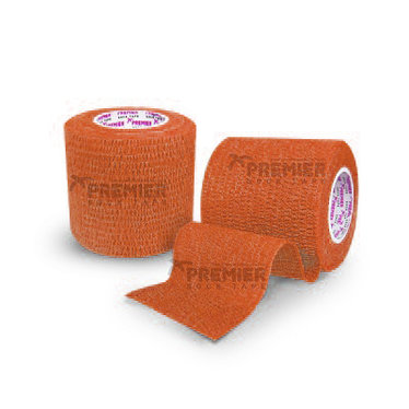 GOALKEEPERS WRIST & FINGER PROTECTION TAPE 5CM AMBER