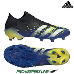 ADIDAS PREDATOR FREAK .1 LOW FG BLACK/ROYAL BLUE/SOLAR YELLOW