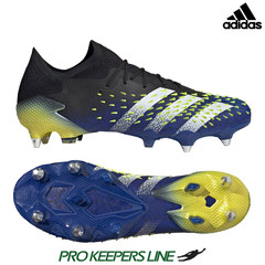 ADIDAS PREDATOR FREAK .1 LOW SG BLACK/ROYAL BLUE/SOLAR YELLOW