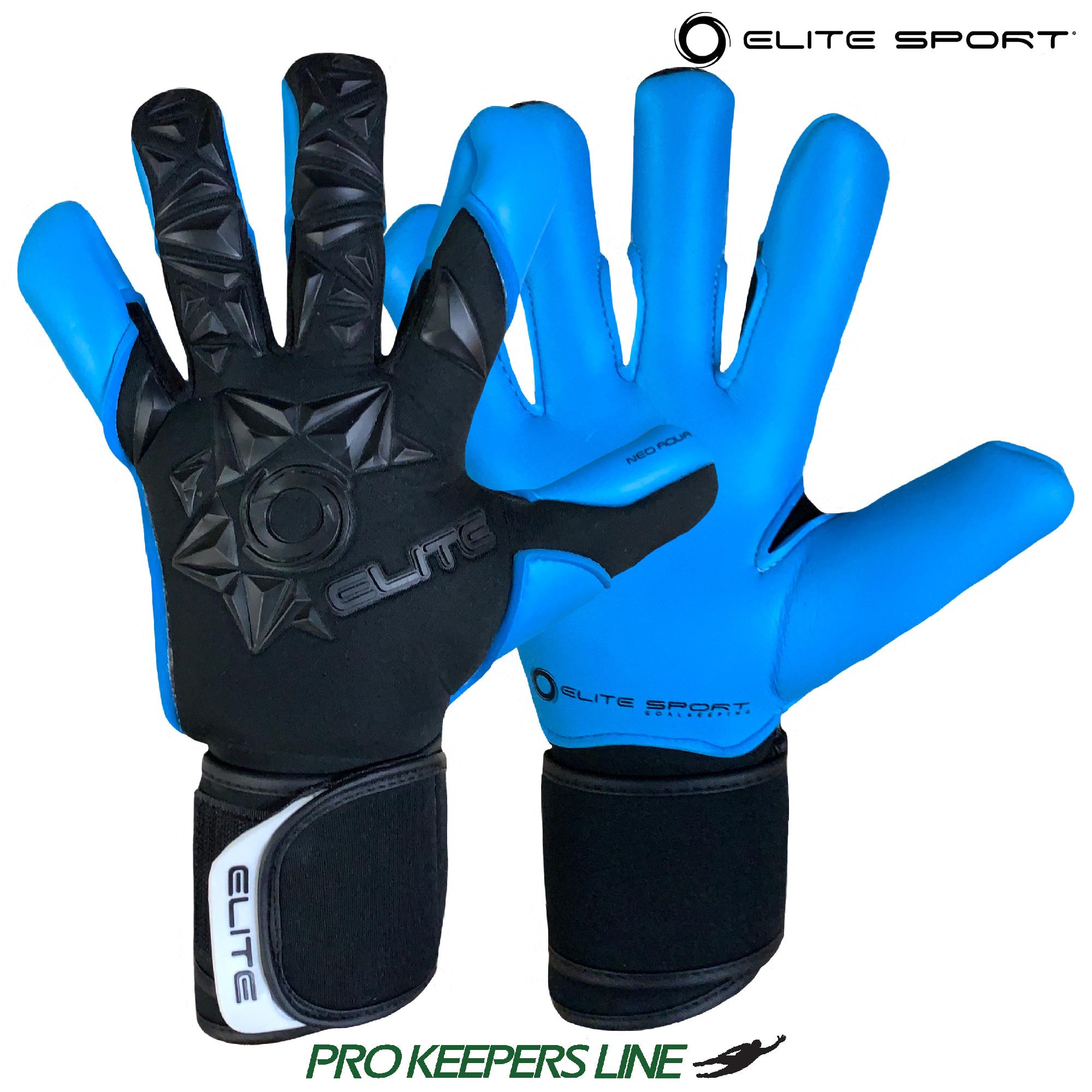 Elite Sport Neo White Goalkeeper Gloves White