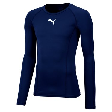 PUMA LIGA BASELAYER TEE LS PEACOAT