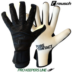 REUSCH PURE CONTACT BLACK & WHITE GOLD X