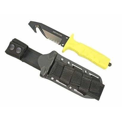 Fox FKMD fire brigade knife yellow