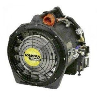 RamFan Intrinsically safe air driven blower/exhauster Ø 30 atex