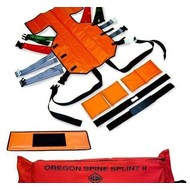 Skedco Oregon Spine Splint II orange