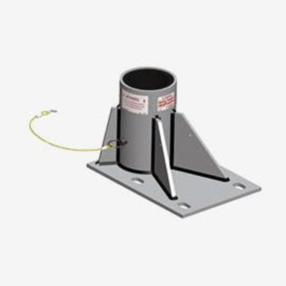 Xtirpa Xtirpa in-2238 floor adater base for concrete and steel