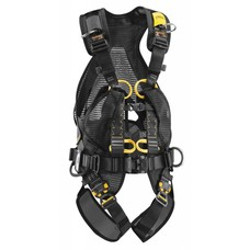 Fall arrest harnesses with workpositioning belt