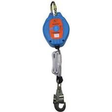 Fall arrest block belt material