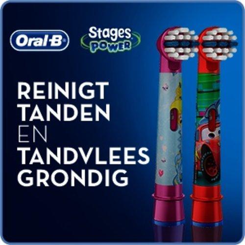Oral-B Oral-B Stages Opzetborstels   Cars   4 stuks