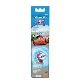 Oral-B Stages Cars | 4 stuks