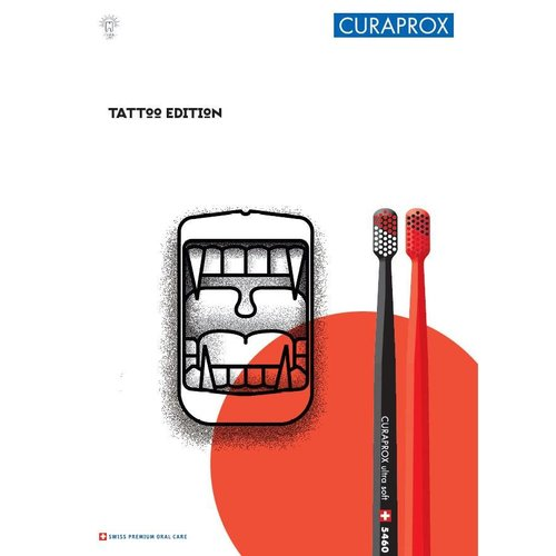 Curaprox Curaprox | Tattoo Edition | Ultra Soft | 5460 | 2 Stuks