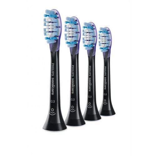 Philips Sonicare Philips Sonicare Premium Gum Care Opzetborstels | 4 stuks | Black G3 | HX9054/33