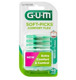 GUM Soft-Picks Comfort Flex | Regular / Medium