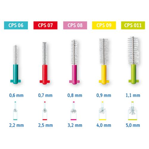 Curaprox Curaprox Prime Refill Ragers | 09 | 4mm | 8 stuks