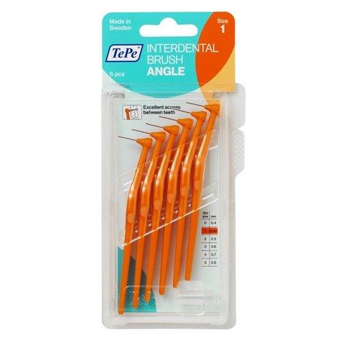 TePe TePe Angle Ragers   Maat 1   1,9mm   6 stuks