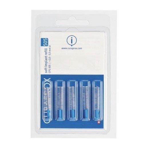 Curaprox Curaprox Soft Implant Refill 505 | 5,5mm Ø | 5 stuks