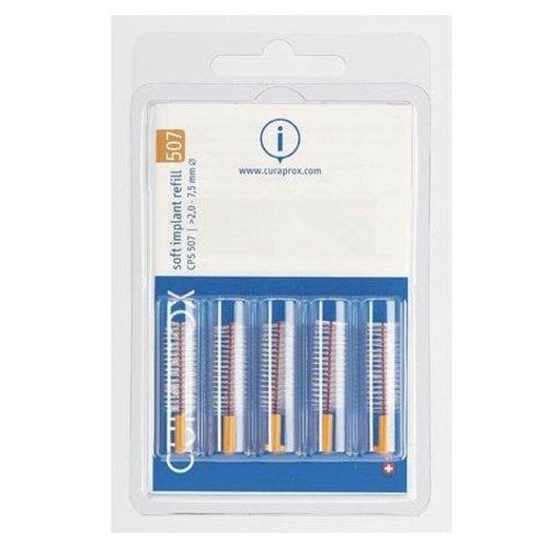 Curaprox Curaprox Soft Implant Refill 507 | 7,5mm Ø | 5 stuks