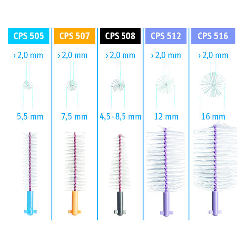 Curaprox Curaprox Soft Implant Refill 508 | 4,5 - 8,5mm Ø | 5 stuks