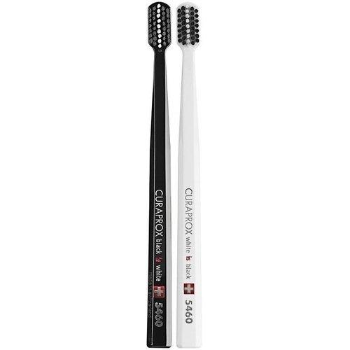 Curaprox Curaprox Black is White Tandenborstel   Ultra Soft   5460   2 Stuks