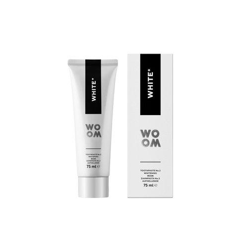 WOOM WOOM White+ Tandpasta | 75ml