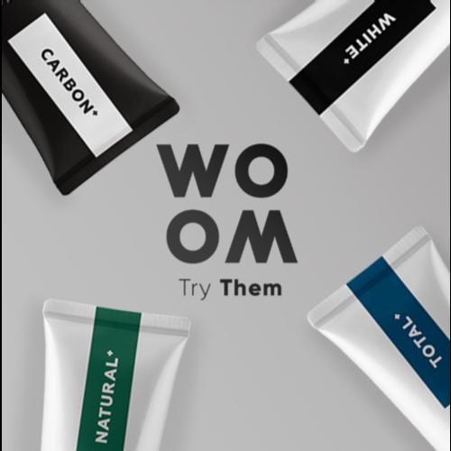 WOOM WOOM | NATURAL+ Tandpasta -  75ml