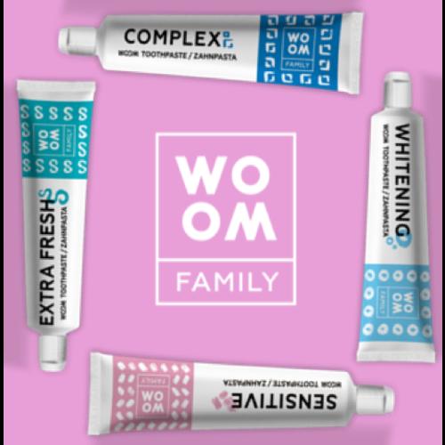 WOOM WOOM | FAMILY WHITENING Tandpasta -  75ml
