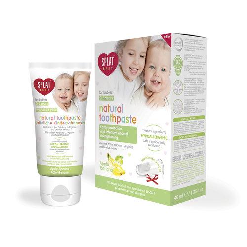 Splat Splat Baby Tandpasta | 0-3 jaar | Appel-Banaan | 40ml