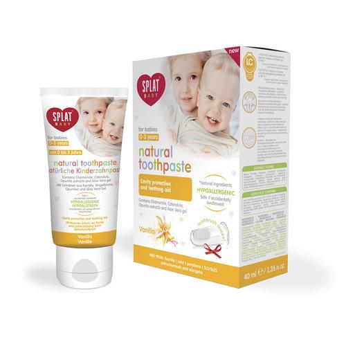 Splat Splat Baby Tandpasta | 0-3 jaar | Vanille | 40ml